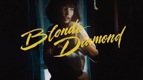 Screenshot from Blonde Diamond's music video for Ghost Town